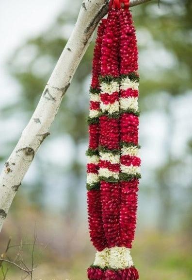 wedding garlands price