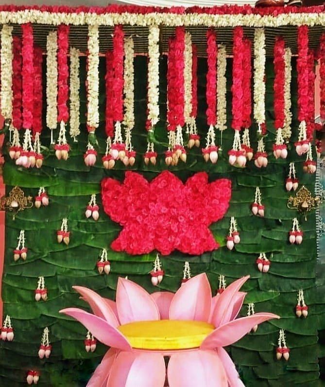 mangala snanam decoration for bride